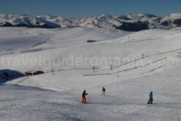 Schi in Valea Dorului - Sinaia - Muntii Bucegi