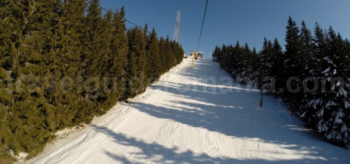 Partii din schi din Romania - Statiunea Parang Petrosani