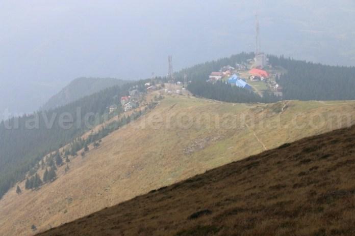 Statiunea Parang Petrosani vazuta de pe Varful Parang