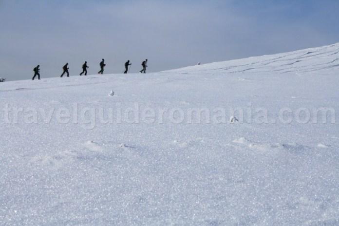 Drumetii montane iarna in Muntii Apuseni