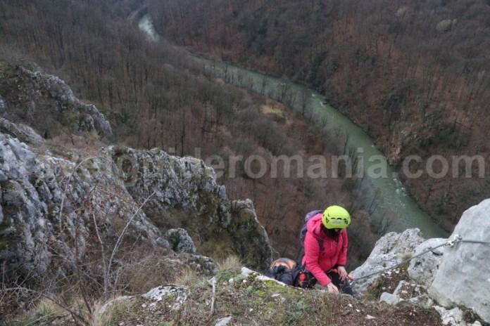 Obictive turistice din jdetul Bihor - via ferrata