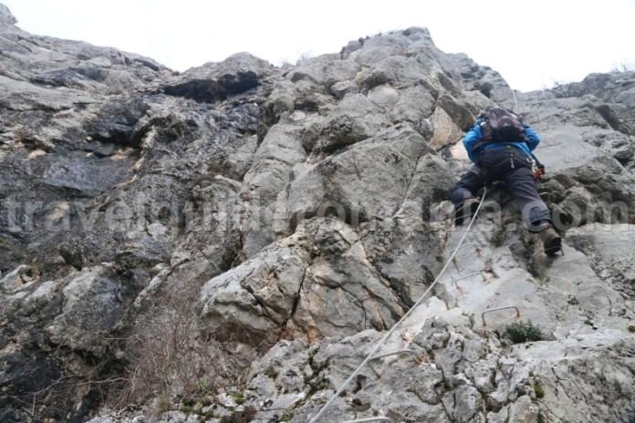 Turism de aventura in Muntii Apuseni - Via ferrata din Vadul Crisului