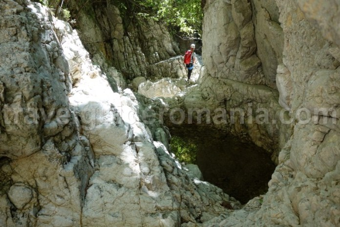 Locuri mai putin vizitate in Romania - Canionul Oratii