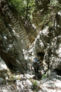 Tabere de aventura pentru copii - canyoning in Romania