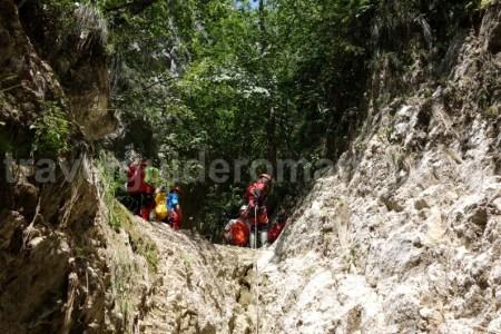 Turism in culoarul Rucar - Bran - canyoning Valea Oratii