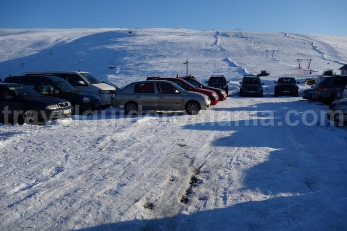 Parcare la Muntele Mic