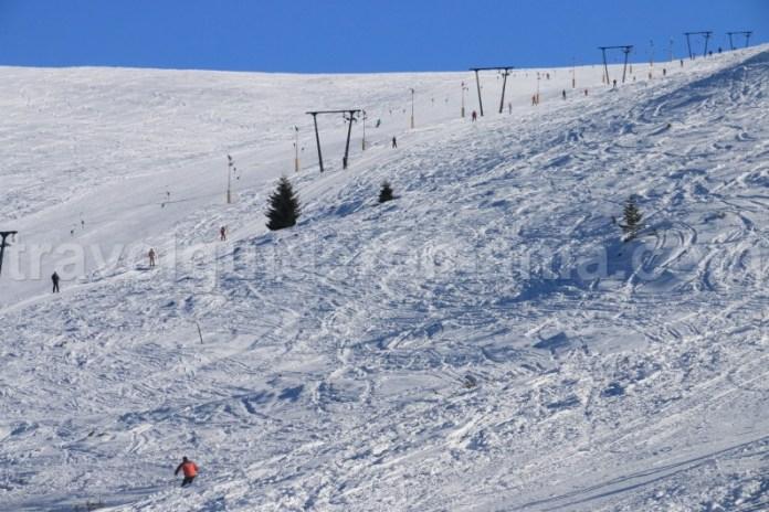 Ski la Muntele Mic