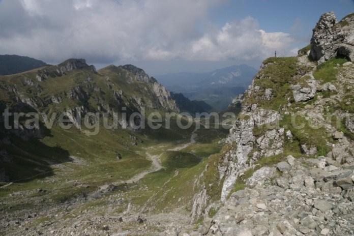 Masivul Bucegi - muntii Meridionali