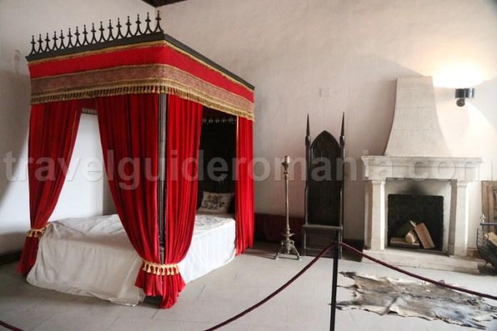 Interior la Castelul Huniazilor