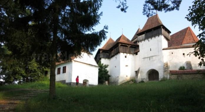 biserica evanghelica fortificata viscri unesco transilvania