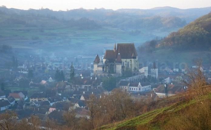 biserica fortificata unesco biertan transilvania