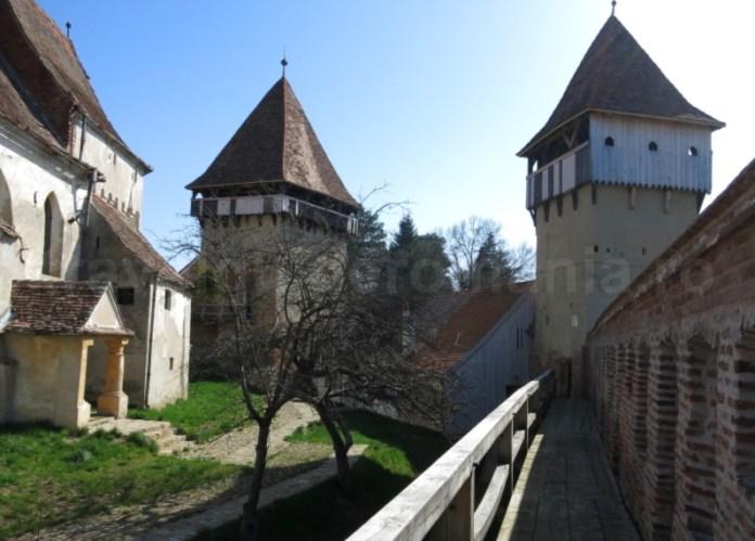 curte biserica evanghelica alma vii transilvania