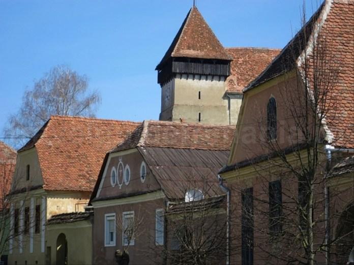 sat sasesc copsa mare biserica transilvania