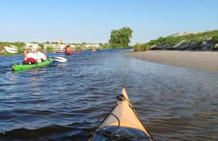 rezervatia biosferei delta dunarii caiac canal sidor dune