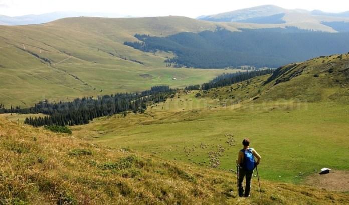 muntii latoritei drumul strategic de pe transalpina mountain-biking