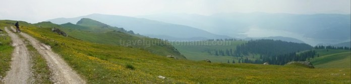 muntii latoritei drumul strategic mountain-biking lac vidra