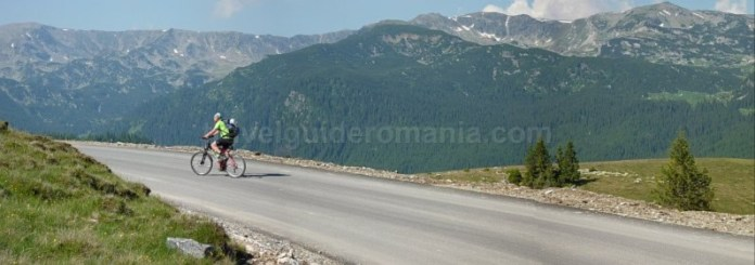 muntii parang transalpina asfalt mountain-biking