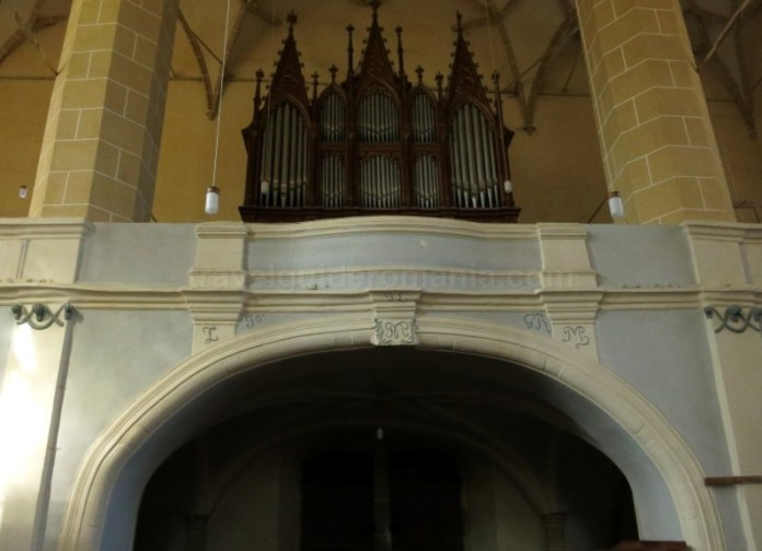 orga biserica fortificata biertan unesco