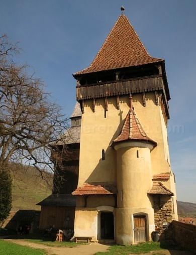 turn biserica fortificata biertan unesco transilvania