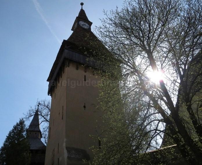 turn ceas biserica fortificata biertan unesco