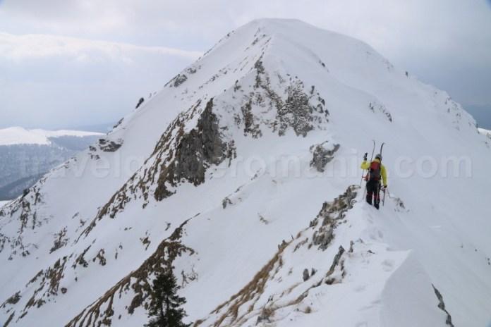 Marcaje turistice din muntii Carpati - Creasta Oslea
