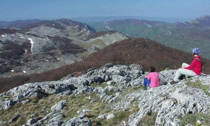 Parcul Naţional Domogled - Valea Cernei varful lui stan