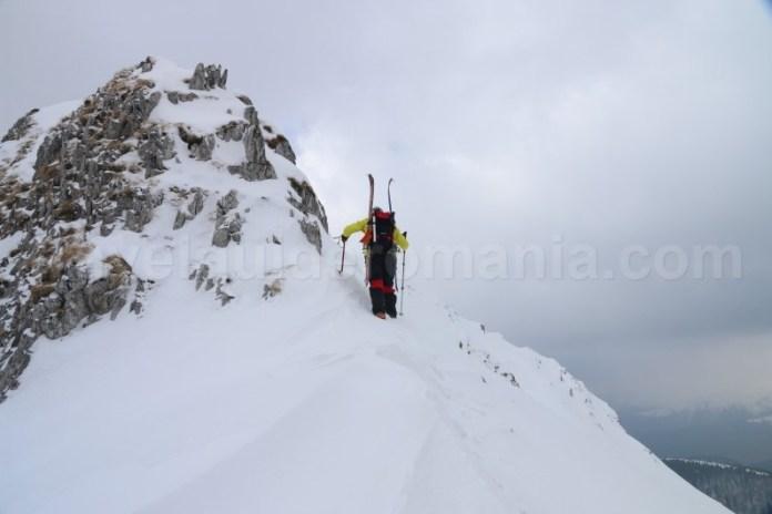 Schi - alpinism in Romania - Creasta Oslea