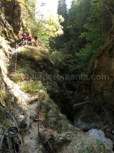 canionul valea lui stan fagaras amenajare