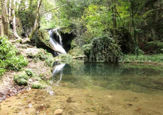Parcul Național Cheile Nerei-Beușnița cascada vaioaga