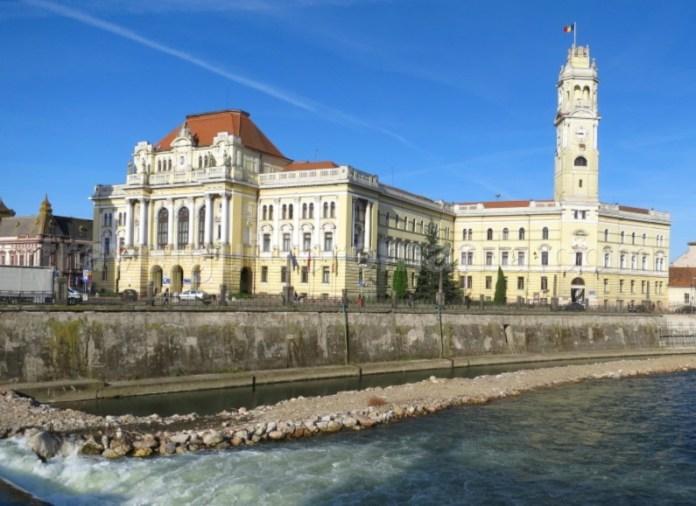 Primaria si turnul cu ceas Oradea