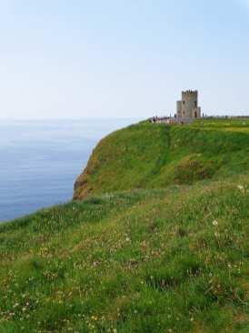 O'Brien's Tower cliffs of moher tour ireland