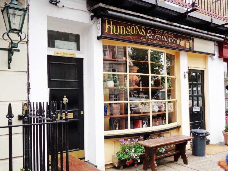 221b baker street museum hudsons london