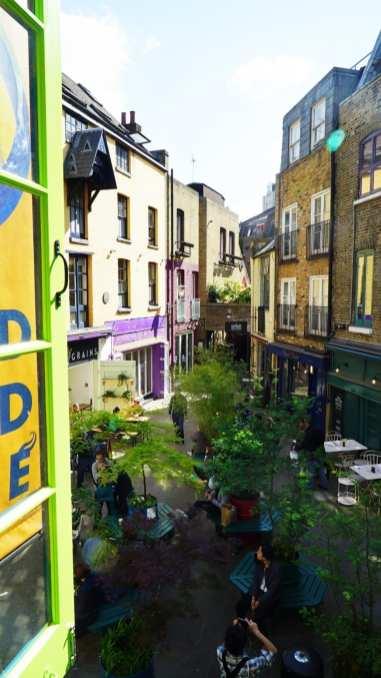 neal's yard covent garden london window