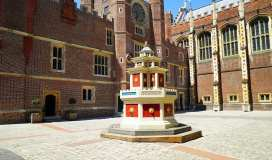 hampton court palace wine fountain