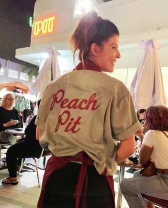 peach pit t-shirt
