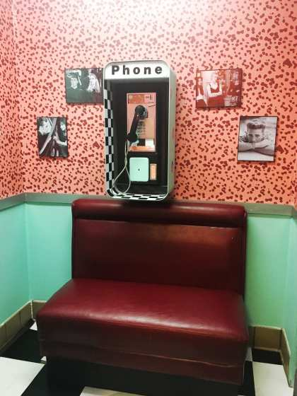 peach pit phone booth