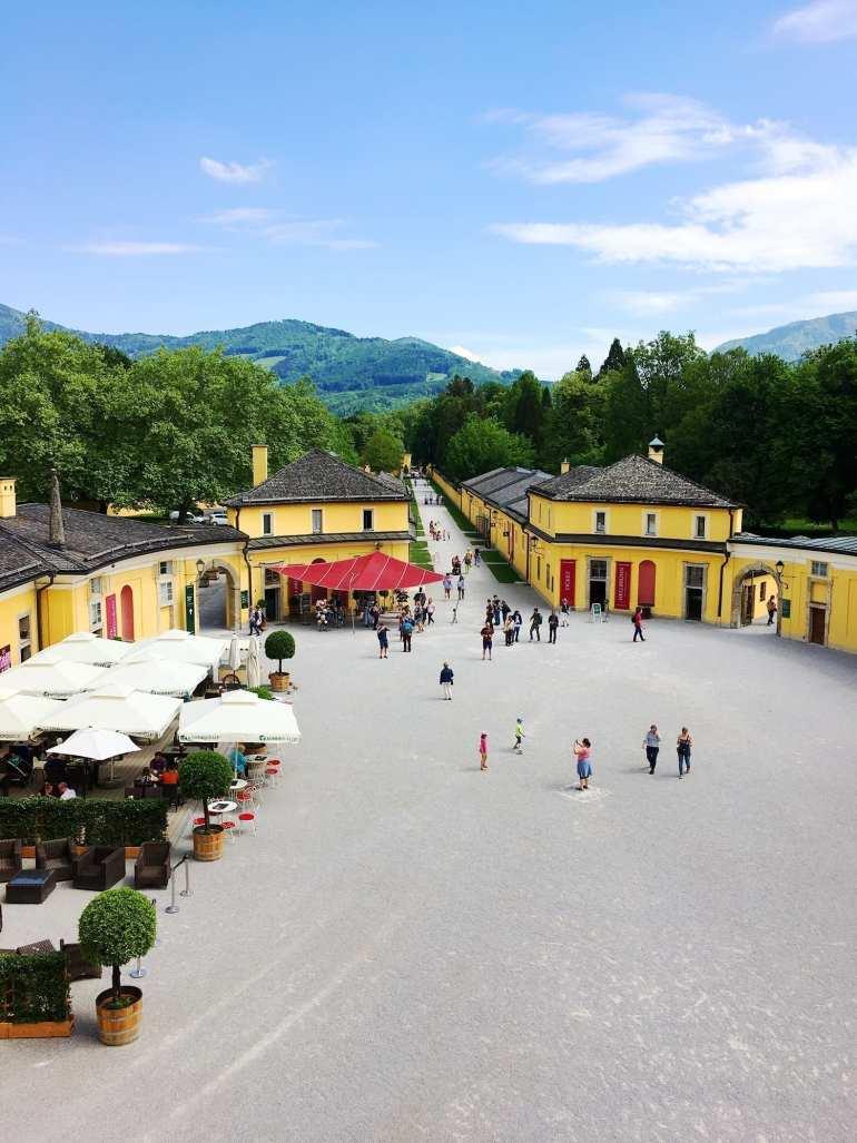 schloss hellbrunn parken