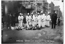 Cuando los neoyorquinos fueron amenazados por las cáscaras de banana 1