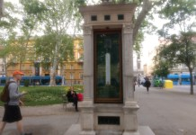 La Columna meteorológica de Zrinjevac en Zagreb, Croacia 1