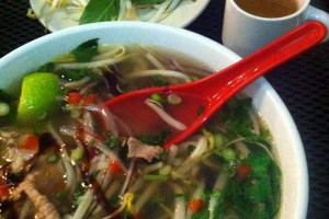 Pho at Pho Hong, Burlington, Vermont