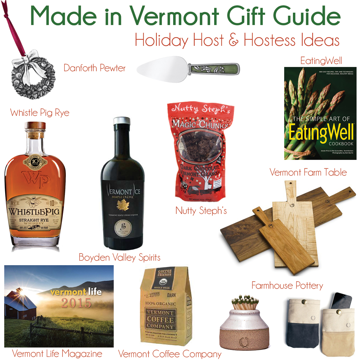 Vermont-Made Holiday Gift Guide: Host & Hostess Gifts - Travel Like ...
