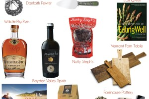 Vermont Gift Guide: Holiday Hosts & Hostesses