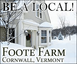 Be a Local, Foote Farm, Cornwall, Vermont
