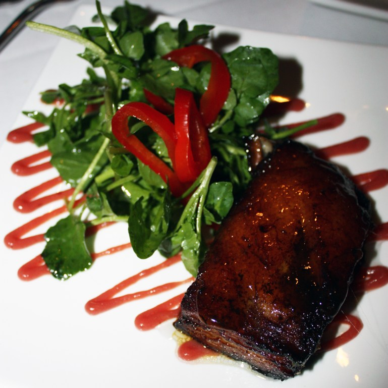 Pork Belly, Michael's on the HIll, Waterbury, Vermont