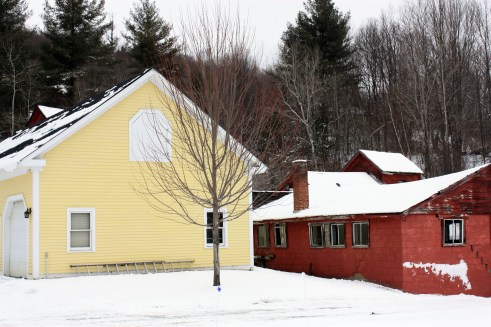 Yellow-Farmhouse Property, Waitsfield, Vermont