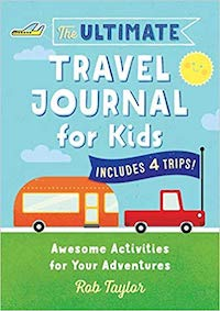 children family group travel journaling