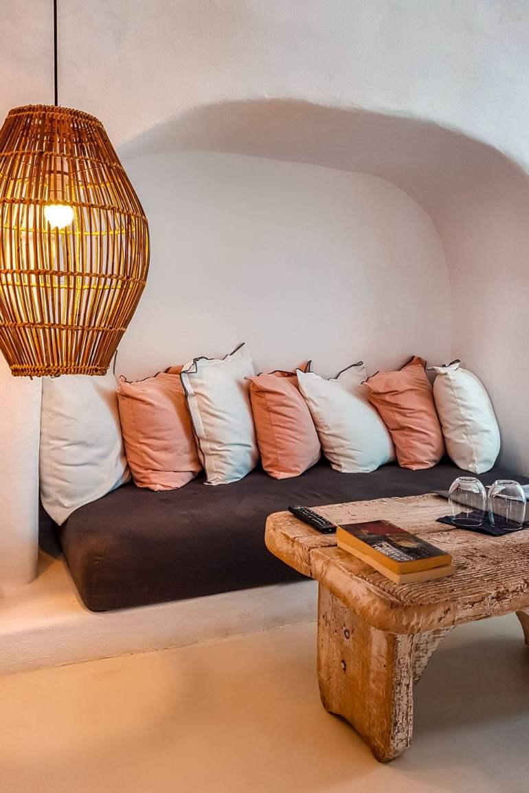 Cave House Interior Santorini