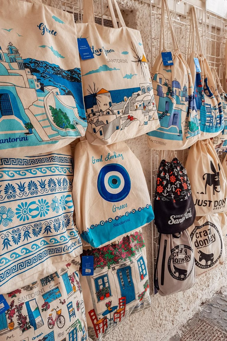 Bags Souvenir Shop Santorini