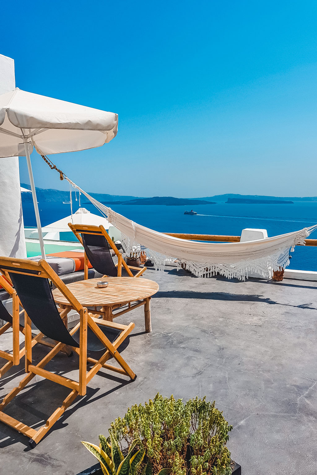 Sea View Hammock Santorini
