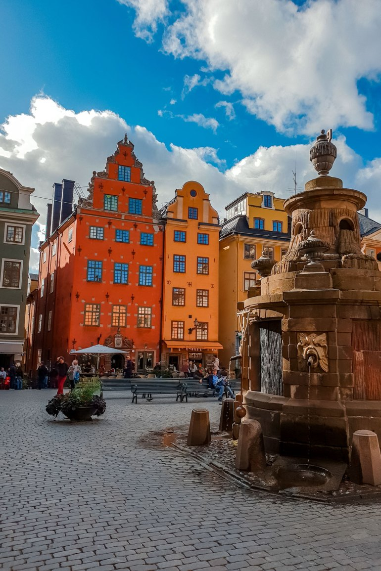 Stortorget Fountain at Gamla Stan